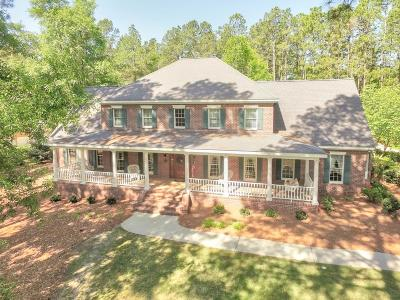 Aiken Single Family Home For Sale: 222 Magnolia Lake Road