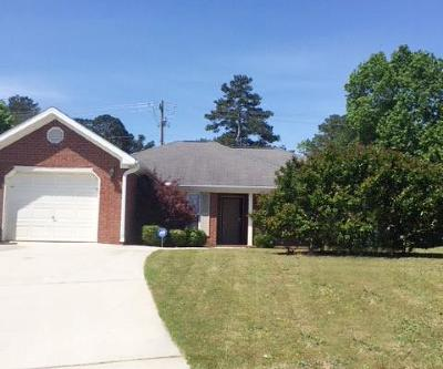 Augusta Single Family Home For Sale: 3609 Mount View Drive
