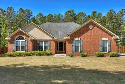 Hephzibah Single Family Home For Sale: 2808 Big Buck Run