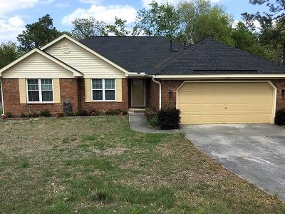 Augusta Single Family Home For Sale: 3111 Greensboro Way