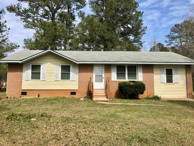 Edgefield County Single Family Home For Sale: 514 Silverbell Street