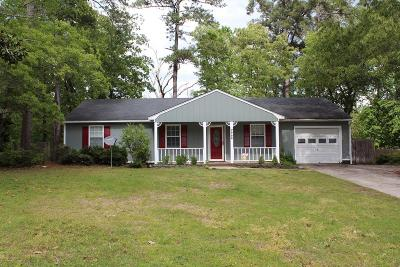 Augusta Single Family Home For Sale: 515 Ridgewood Drive