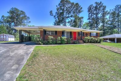 Richmond County Single Family Home For Sale: 3604 Abbey Road #3604