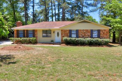 Augusta Single Family Home For Sale: 3225 Yellow Pine Drive