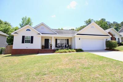 Evans Single Family Home For Sale: 424 Trestle Lane