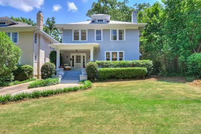 Augusta Single Family Home For Sale: 2544 Henry Street