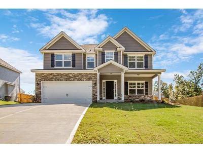 Evans Single Family Home For Sale: 4620 Hickory Drive