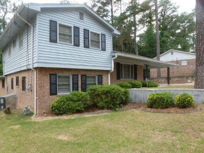 Augusta Single Family Home For Sale: 3182 River Oak Road