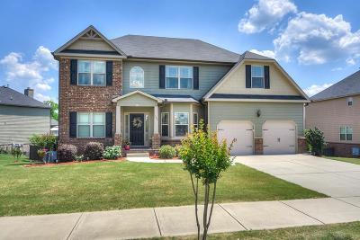 North Augusta Single Family Home For Sale: 123 Gustav Court