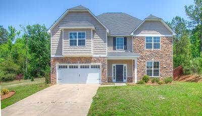 Grovetown Single Family Home For Sale: 756 Gallaway Lane