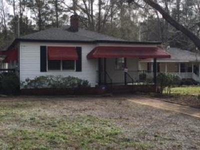 Lincoln County Single Family Home For Sale: 548 N Washington Street