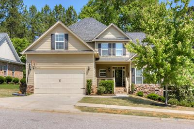 Grovetown Single Family Home For Sale: 1213 Greenwich Pass