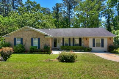 Augusta Single Family Home For Sale: 308 Candlewood Drive
