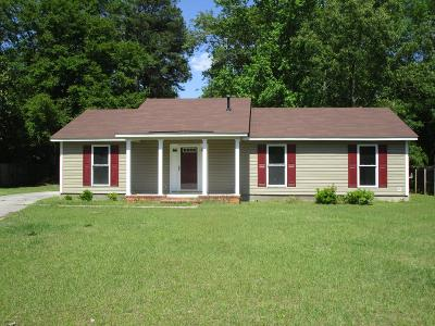 Augusta Single Family Home For Sale: 3804 Englewood Court