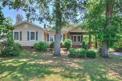 North Augusta Single Family Home For Sale: 911 Lake Avenue
