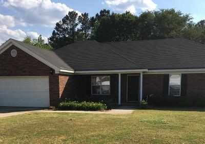 Grovetown GA Single Family Home For Sale: $189,900