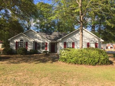 North Augusta Single Family Home For Sale: 434 Old Walnut Branch