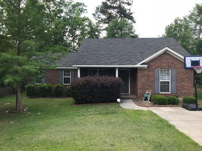 Grovetown Single Family Home For Sale: 3035 Ashland Way