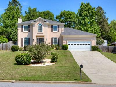 Evans Single Family Home For Sale: 698 Rye Hill Drive
