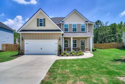 Evans Single Family Home For Sale: 4862 Tanner Oaks Drive