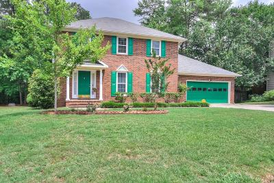 Grovetown Single Family Home For Sale: 1112 Fall Creek Lane