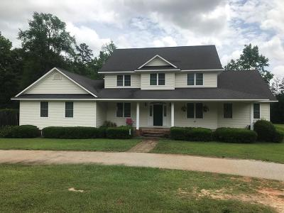 Thomson Single Family Home For Sale: 1316 Cedar Creek Drive