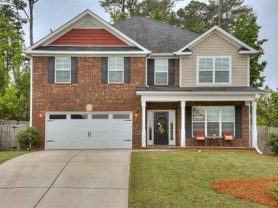 Grovetown Single Family Home For Sale: 1602 Cedar Hill Drive