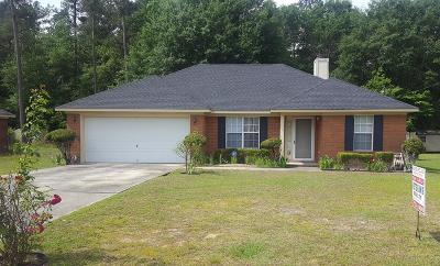 Hephzibah Single Family Home For Sale: 2775 Davis Mill Road
