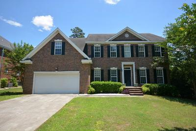 Evans Single Family Home For Sale: 4348 Azalea Drive
