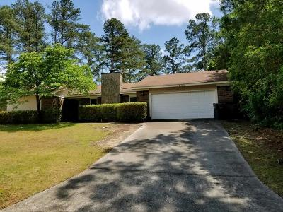 Augusta GA Single Family Home For Sale: $172,900