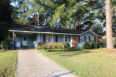 Augusta GA Single Family Home For Sale: $48,000