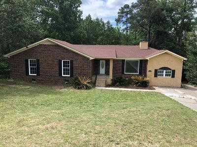 Augusta GA Single Family Home For Sale: $149,900