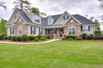 Evans Single Family Home For Sale: 2497 William Few Pkwy