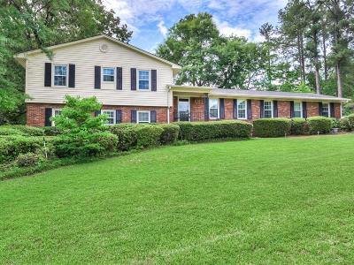 North Augusta Single Family Home For Sale: 1822 Bolin Road