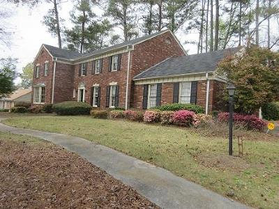 Columbia County, Richmond County Single Family Home For Sale: 3211 Lake Forest Drive