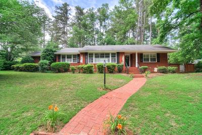 Augusta GA Single Family Home For Sale: $289,900