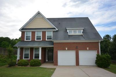 Grovetown GA Single Family Home For Sale: $219,900