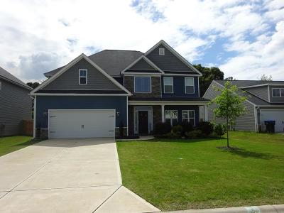 Augusta Single Family Home For Sale: 917 Inman Drive