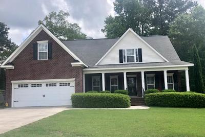 North Augusta Single Family Home For Sale: 132 Line Bars Drive