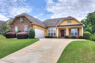 Grovetown Single Family Home For Sale: 1155 Greenwich Pass