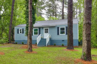 Augusta Single Family Home For Sale: 3444 Wayside Drive