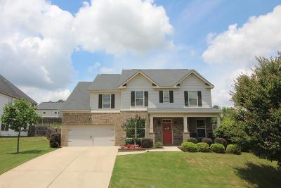 Grovetown Single Family Home For Sale: 735 Gallaway Lane