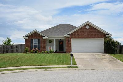 Grovetown Single Family Home For Sale: 4029 Rosedale Place