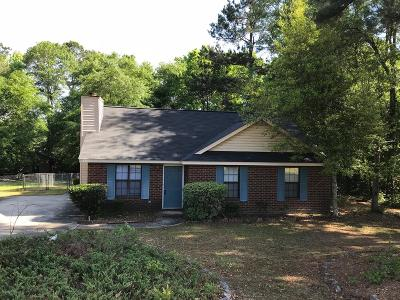 Hephzibah Single Family Home For Sale: 2349 Willis Foreman Road
