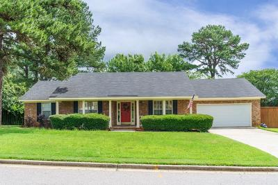 Evans Single Family Home For Sale: 585 Hunterdale Road