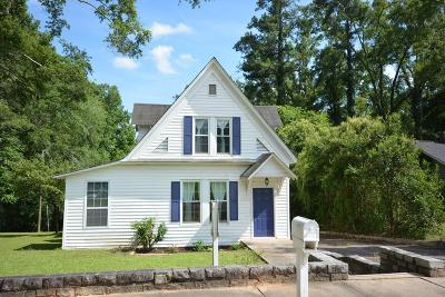 Edgefield County Single Family Home For Sale: 408 Columbia Road