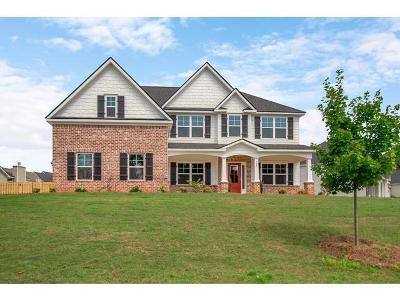 Evans Single Family Home For Sale: 760 Houston Lake Drive