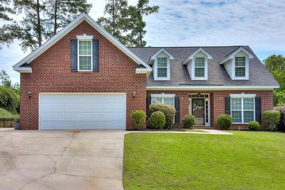 North Augusta Single Family Home For Sale: 167 Adams Branch Road
