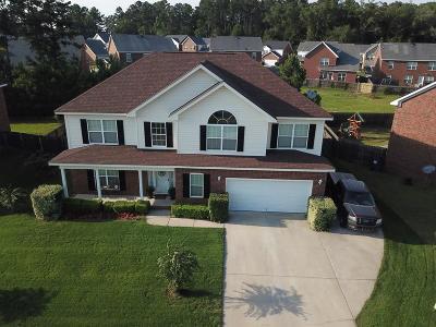 Grovetown Single Family Home For Sale: 7504 Senators Ridge Drive