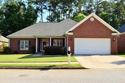 Evans Single Family Home For Sale: 4728 Park Ridge Court